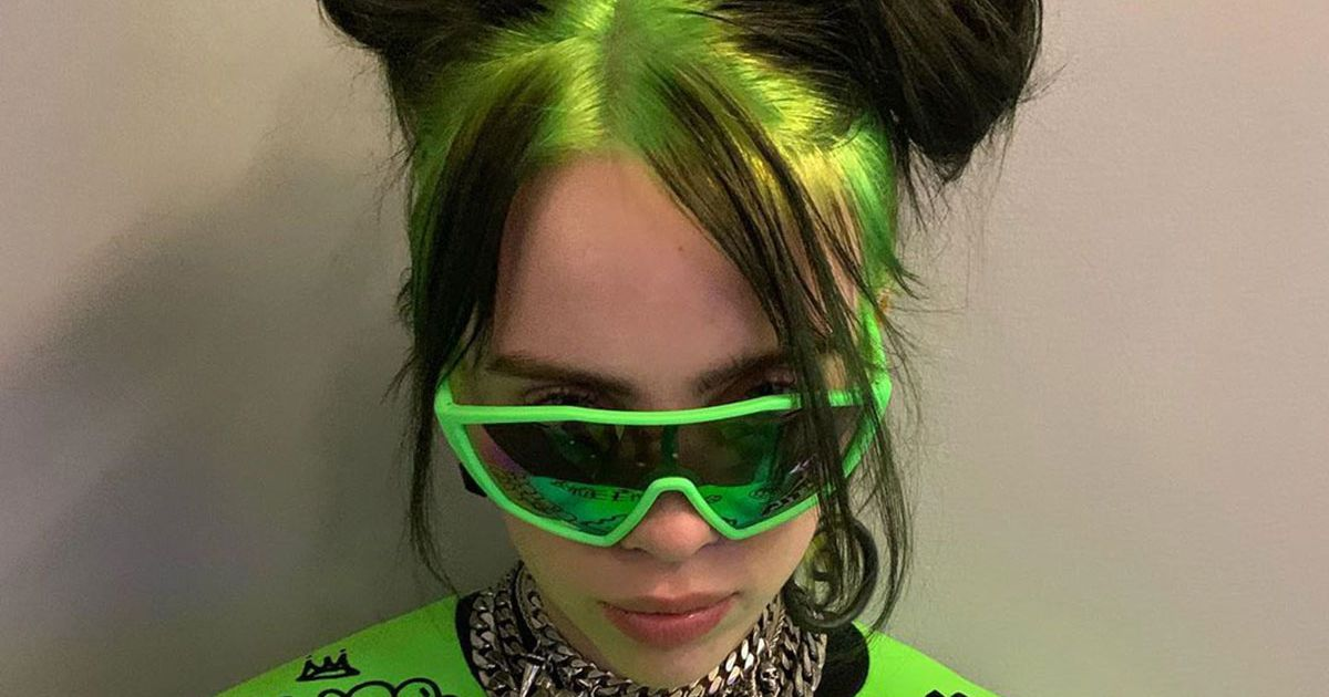 Billie Eilis Now Has Slime Green Hair