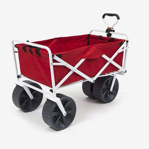 MacSports Heavy Duty Collapsible Folding All Terrain Beach Wagon