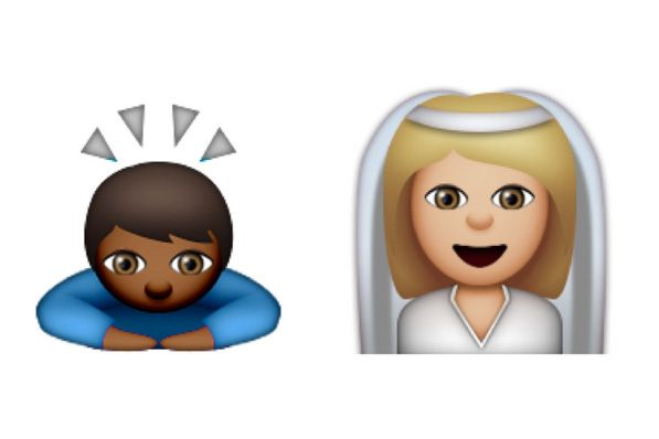 Who else is looking forward to a male bride emoji?