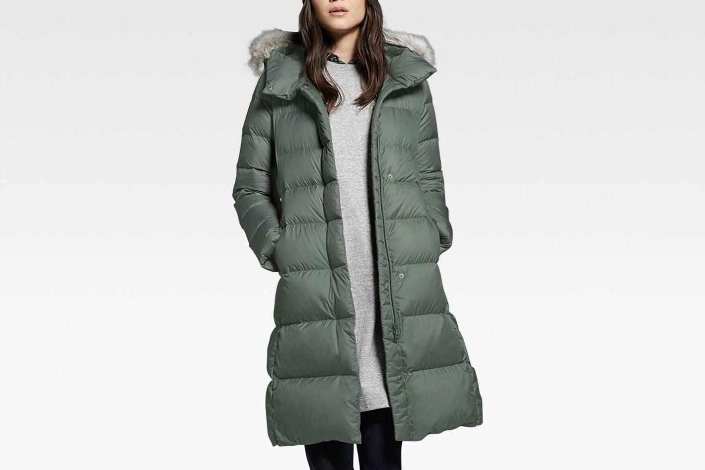 Women Lightweight Down Hooded Coat