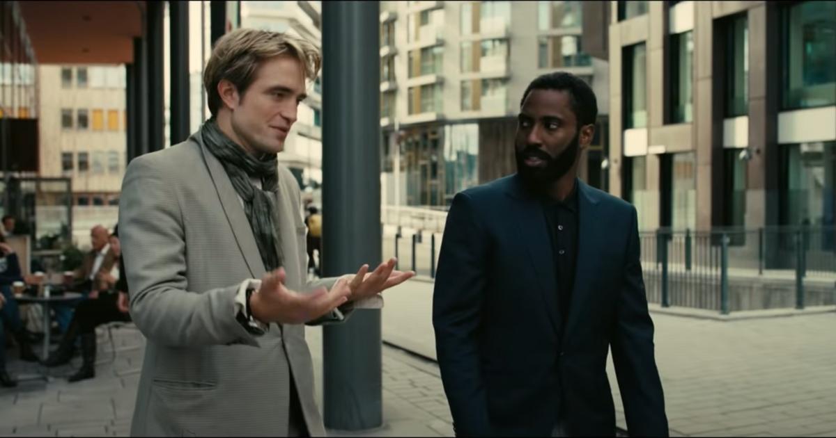 New Tenet Trailer John David Washington Robert Pattinson
