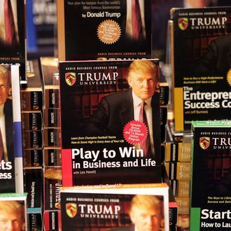 Donald Trump Launches Education Initiative At Barnes & Noble