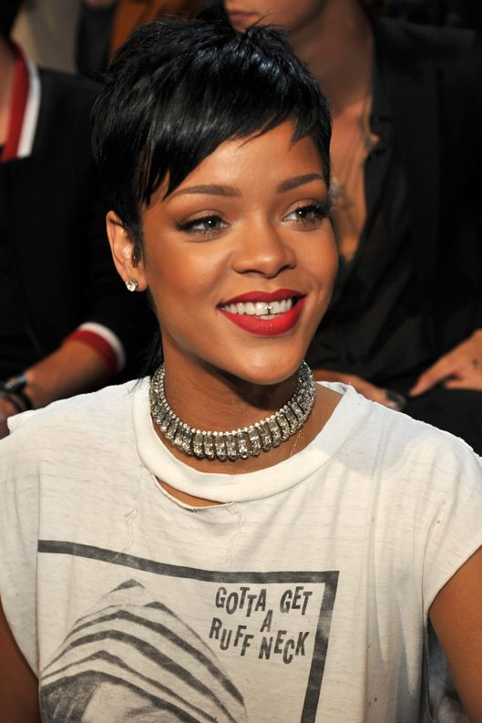 Rihanna attends the 2013 MTV Video Music Awards at the Barclays Center on August 25, 2013 in the Brooklyn borough of New York City.