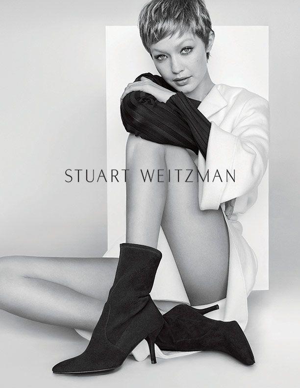 Stuart Weitzman Cling Booties