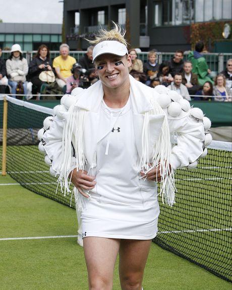 Bethanie Mattek-Sands at Wimbledon.