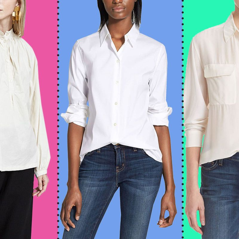 815b668067875e Best White Button-down Shirts for Women