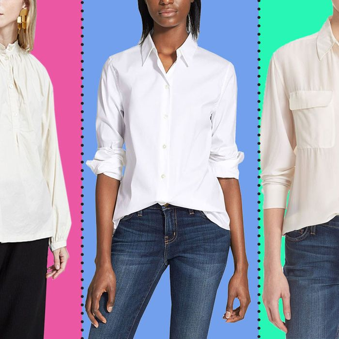 c283630a57e5d3 The Best White Button-down Shirts for Women