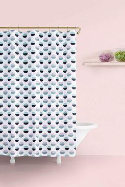 Kate Spade New York Half Dot Shower Curtain