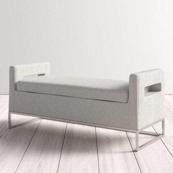 AllModern Pelton Upholstered Storage Bench