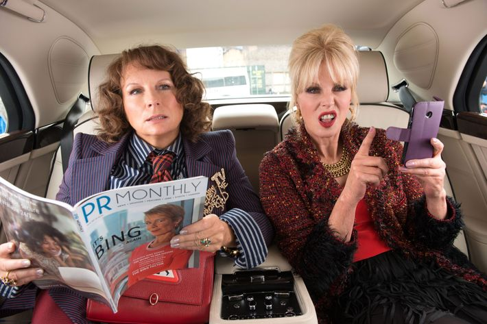 Absolutely Fabulous The Movie.