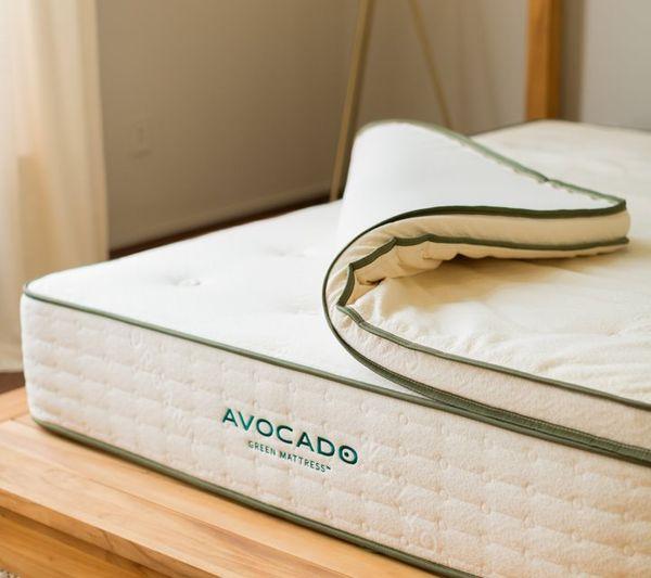 Avocado Green Mattress Latex Topper