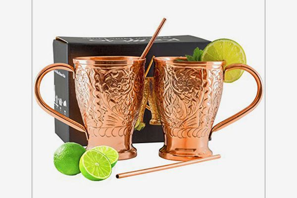 Kamojo Moscow Mule Copper Mugs
