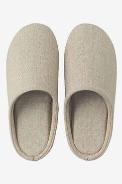 Linen Twill Cushion Slipper