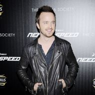 """Aaron Paul==The Cinema Society & Bushmill's host a screening of DreamWorks Pictures' """"Need for Speed""""==Tribeca Grand Hotel, NYC==March 11, 2014==©Patrick McMullan==Photo - Nicholas Hunt / patrickmcmullan.com===="""