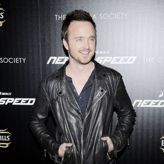 Aaron Paul==The Cinema Society & Bushmill's host a screening of DreamWorks Pictures'
