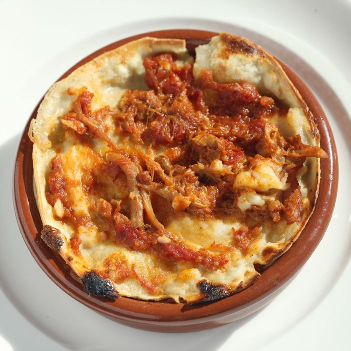 Boozy lasagna.