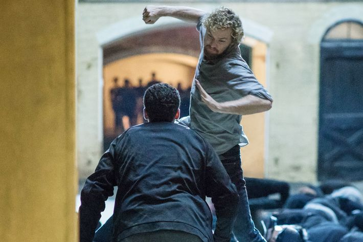 Finn Jones hits back at the critical mauling of Marvel's Iron Fist