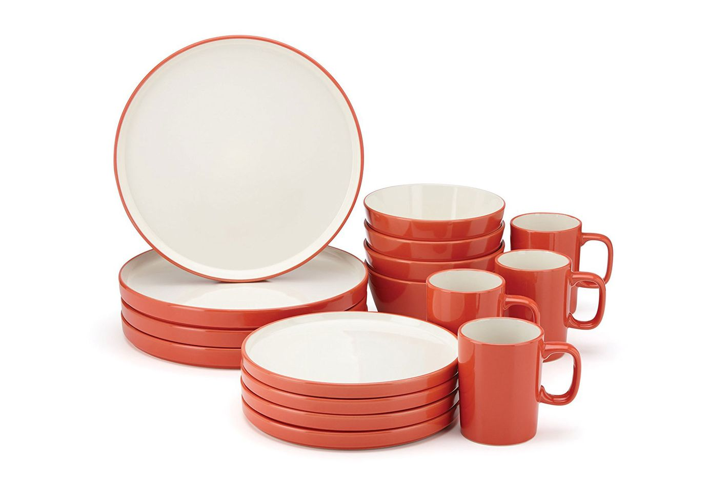 Food & Wine For Gorham Modern Farmhouse 16 Piece Dinnerware Set