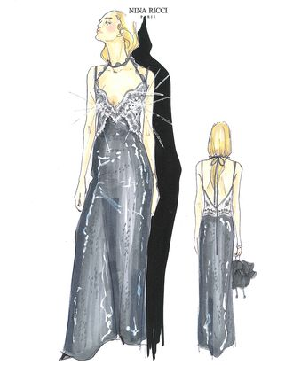 Guillaume Henry's design for Dakota Fanning.