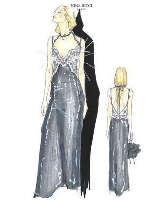Guillaume Henry's design for Dakota Fanning.