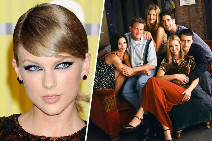 Taylor Swift and Friends.