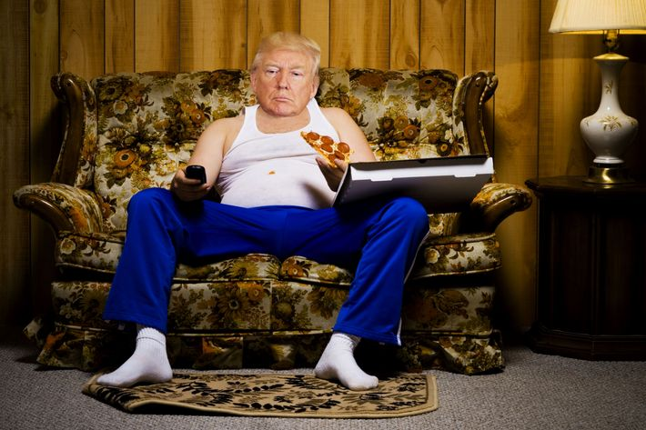 Obese Couch Potato Trump Budget Director:...