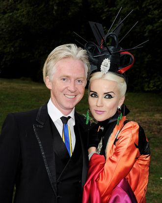 Philip Treacy, Daphne Guinness, and a fabulous hat.