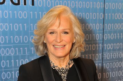 MOUNTAIN VIEW, CA - DECEMBER 12: Glenn Close attends the 2014 Breakthrough Prize Inaugural Ceremony for Awards in Fundamental Physics and Life Sciences at NASA Ames Research Center on December 12, 2013 in Mountain View, California. (Photo by Steve Jennings/Getty Images for MerchantCantos)