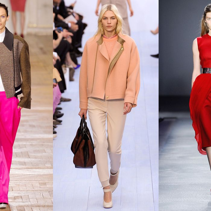 Stella McCartney, Chloe, and Giambattista Valli