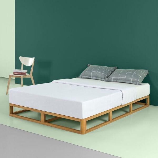Posted Platform Bed
