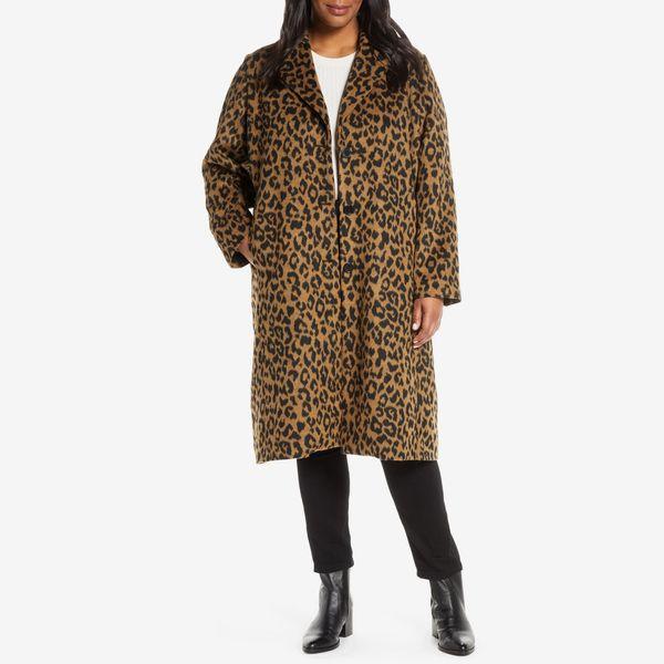 bernardo leopard print coat - strategist nordstrom anniversary sale