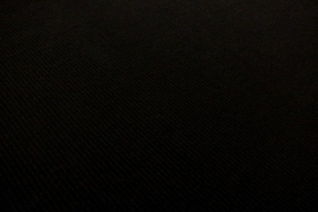 Bamboo Cotton Lycra Rib Knit in Black, One Yard
