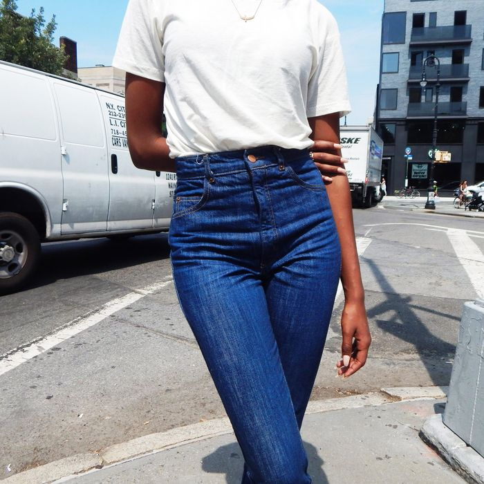 bb4a588718ccb The Best High-Waisted Jeans for Sitting, According to Stylish Women