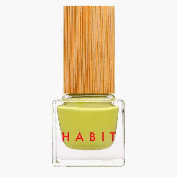 Habit Cosmetics Non-Toxic + Vegan Nail Polish in 54 Let's Call It a Chartreuse