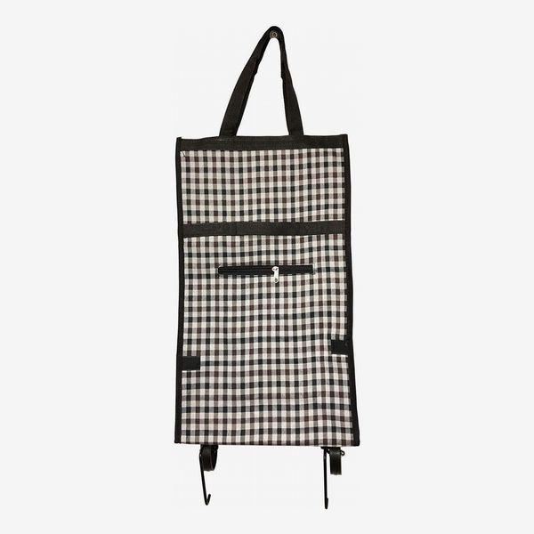 Foldable Shopping Cart Trolley Bag