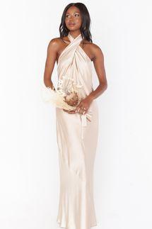 Show Me Your Mumu Jasmine Halter Maxi Dress