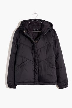 Madewell Chevron Packable Puffer Jacket