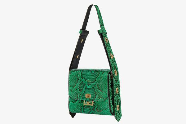 Givenchy Medium Eden Bag in Python Leather