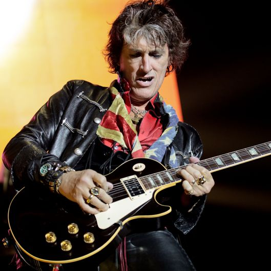 Aerosmith's Joe Perry hospitalized after stumbling off stage