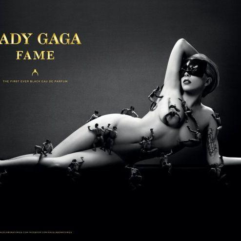 Gaga's new campaign.