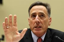 WASHINGTON - APRIL 14:   Vermont Gov. Peter Shumlin speaks during a hearing before the House Oversight and Government Reform Committee April 14, 2011 on Capitol Hill in Washington, DC. The hearing was to examine the fiscal problems faced by states and municipalities and the role of federal government on dealing with those problems.  (Photo by Alex Wong/Getty Images) *** Local Caption *** Peter Shumlin