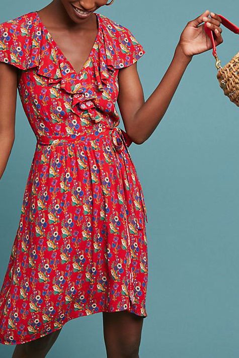 Rosalia Wrap Dress