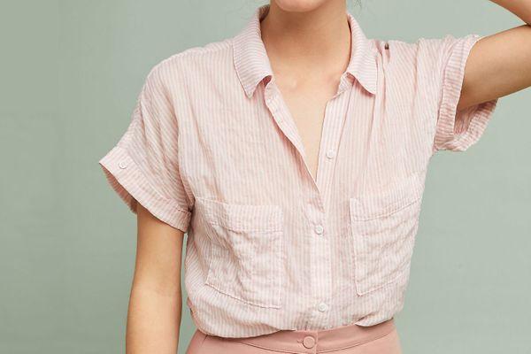 Cloth & Stone Zoe Buttondown