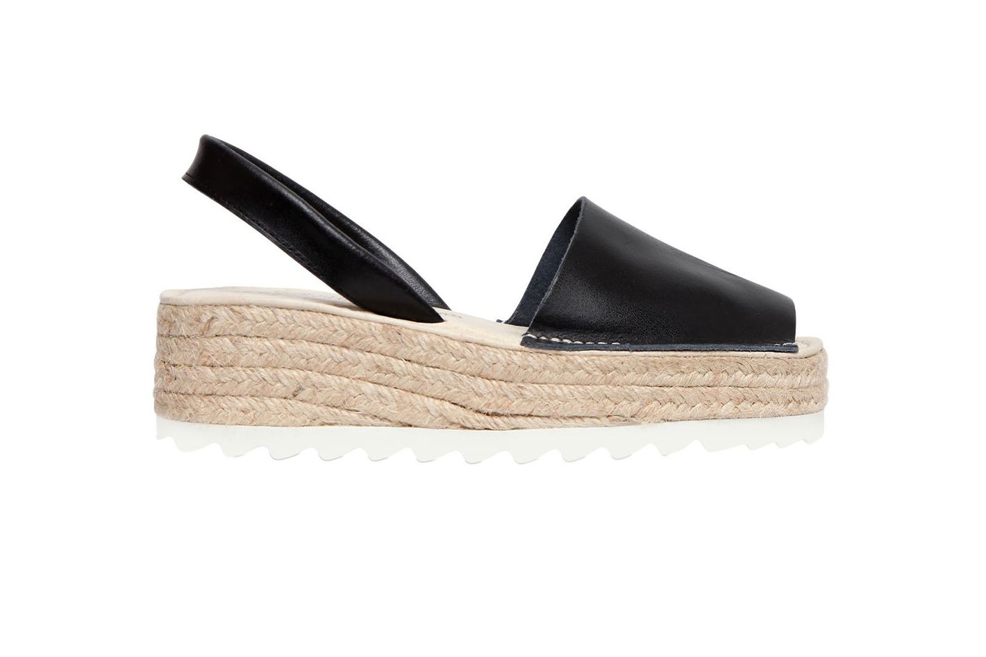 Jeffrey Campbell Ibiza Leather Slingback Espadrilles