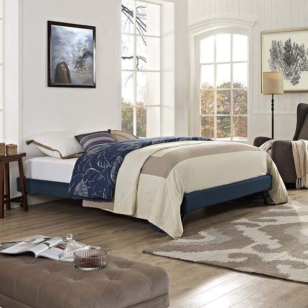 Modway Furniture Modern Loryn Queen Bed Frame