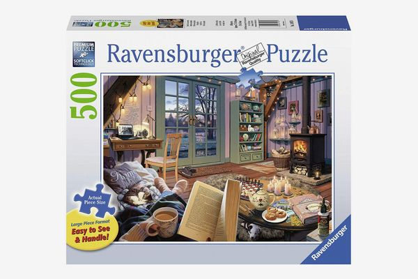 Ravensburger Cozy Retreat 500 Piece Large Format Jigsaw Puzzle