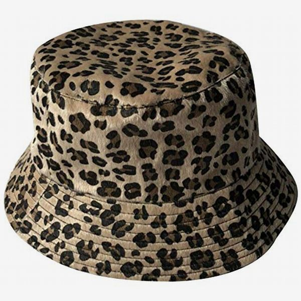 ACVIP Cheetah-Pattern Bucket Hat