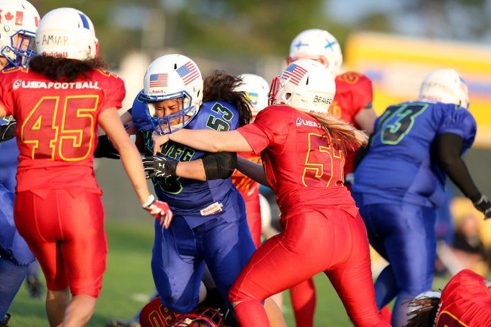 The Women s World Football Games. Photo  Associated Press 644522ad9b