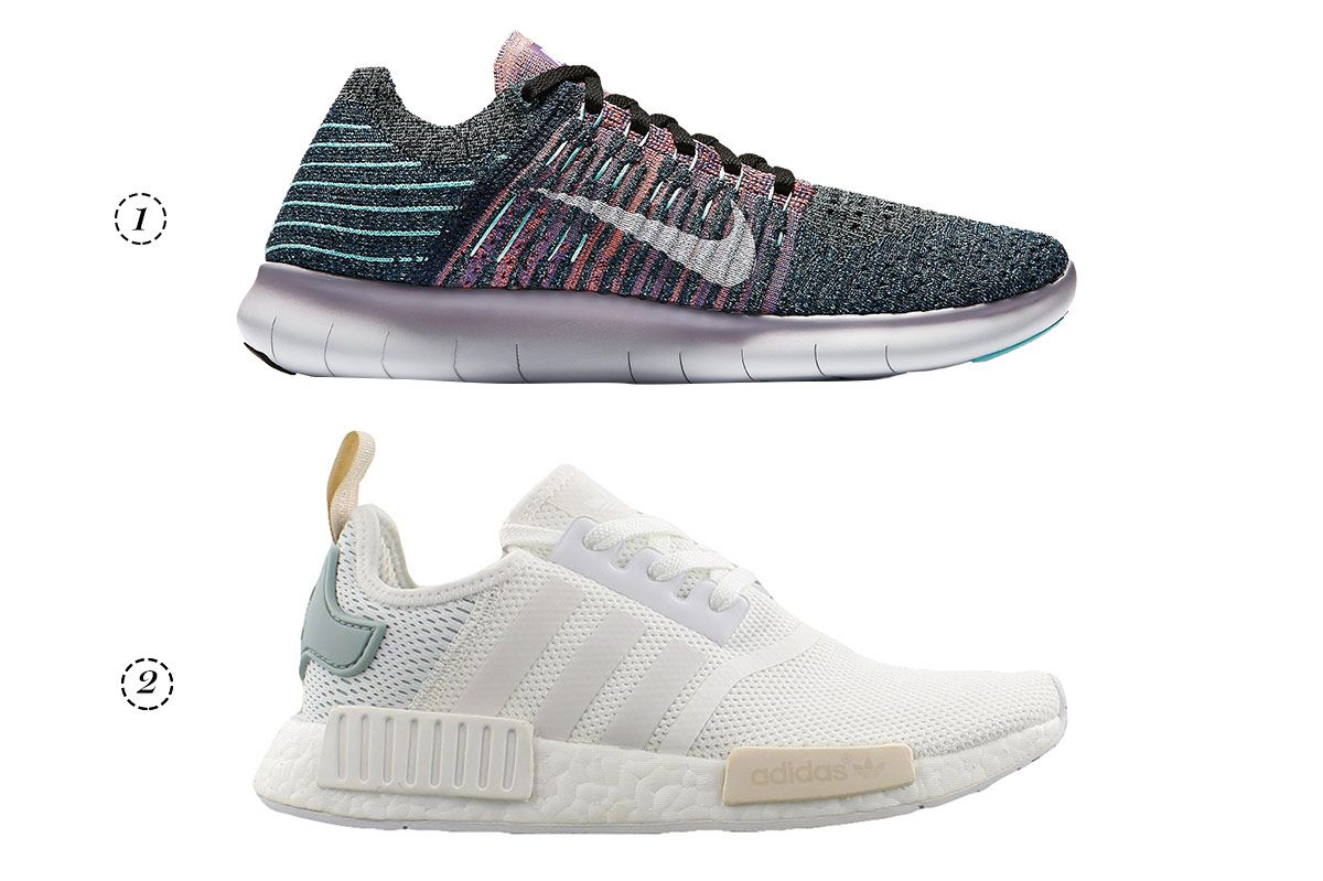 1. Nike Free Flyknit RN sneakers