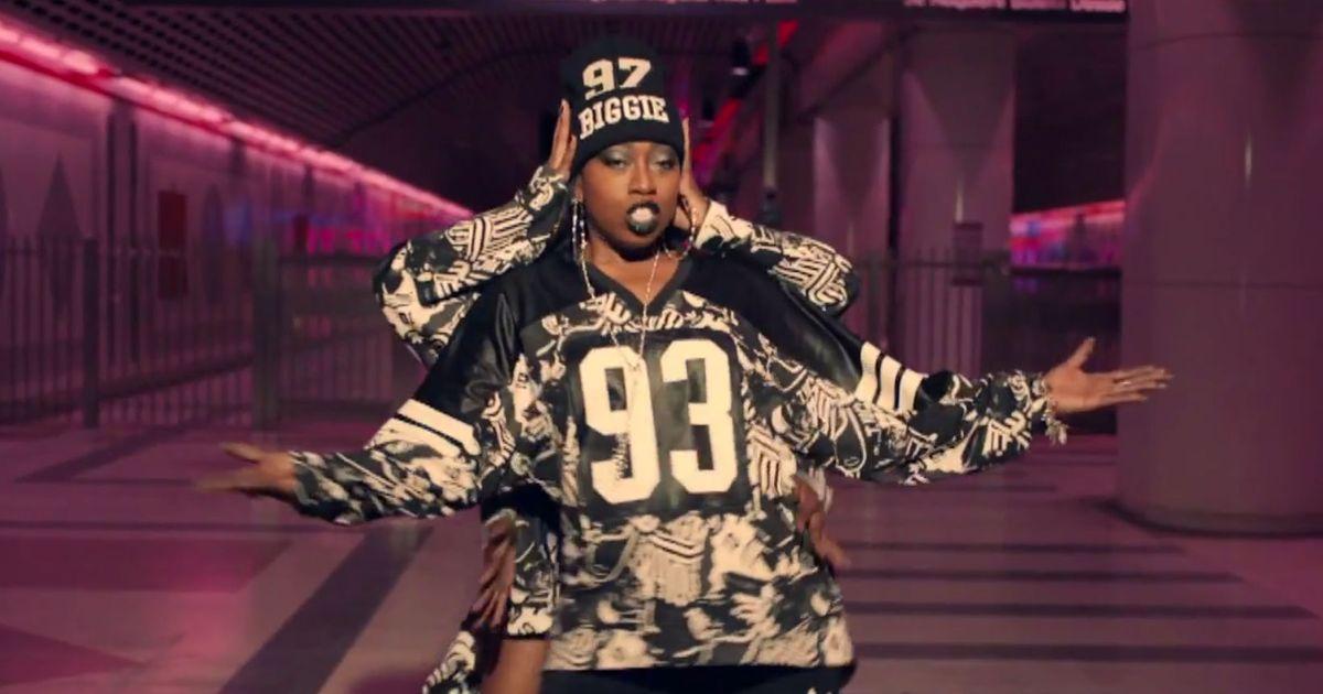 Missy Elliott* Missy 'Misdemeanor' Elliott - Hit 'Em Wit Da Hee